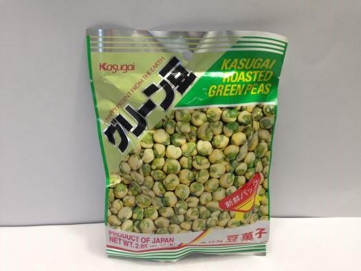 KASUGAI Roasted Green Peas 81G
