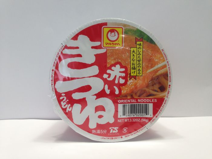 TOYO SUISAN Cup Udon with deep fried To-fu 94g