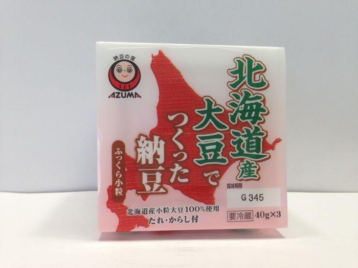 AZUMA SHOKUHIN Hokkaido Natto  40gx3P