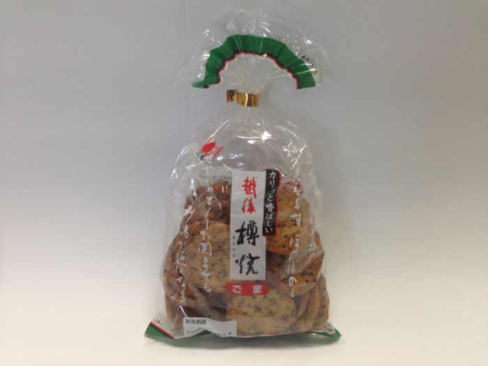 SANKO Echigo Rice Cracker sesame 111g
