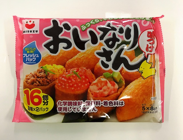 MISUZU Inari Bean Curd 16pc