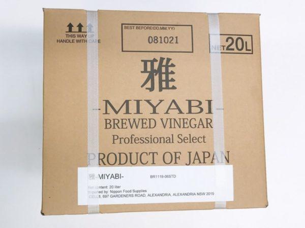 Miyabi Vinegar 20L