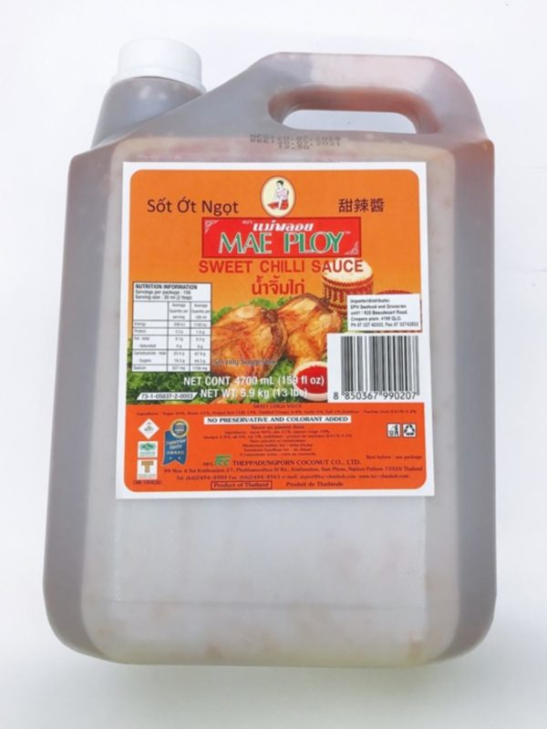 Sweet Chilli Sauce 4.7L