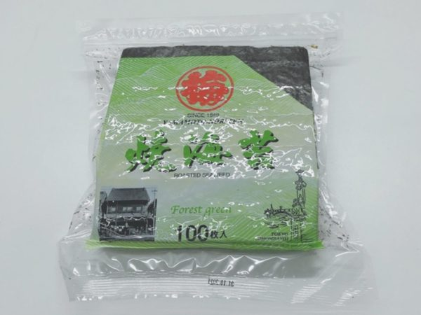 Roasted Seaweed Full Size (Forrest Green) 100pc