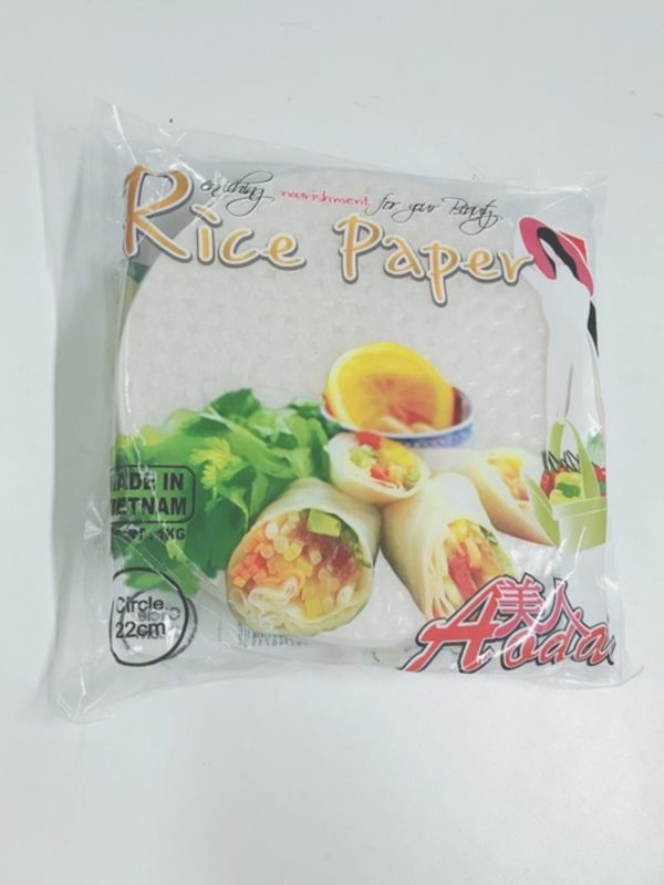 Rice paper 22cm (100Sheets)
