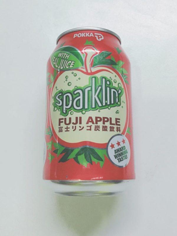 Pokka Sparkling Fuji Apple 325ml