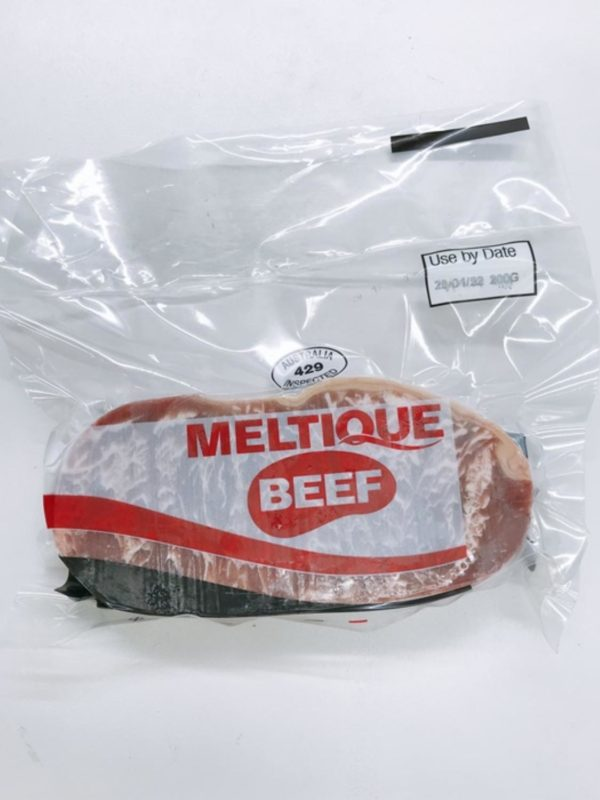 Meltique Beef Striploin Portion 200g