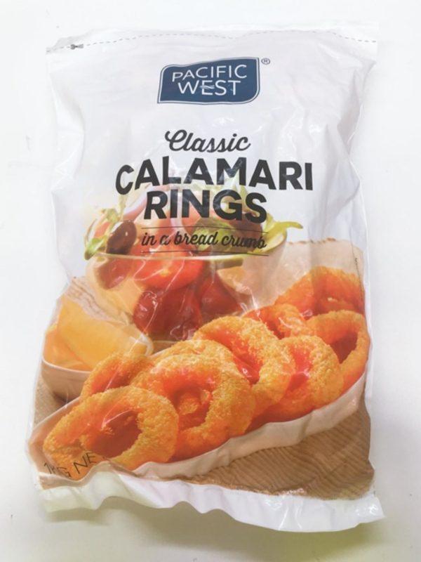 Crumbed Calamari Ring (Natural)