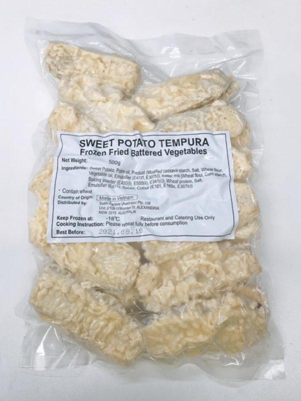 Sweet Potato Tempura 500g