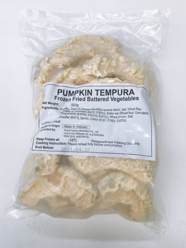 Pumpkin Tempura 500g