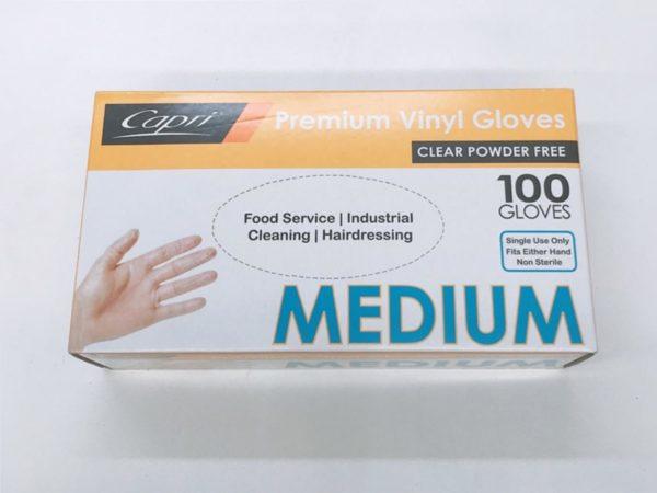Powder Free Glove 100pc M