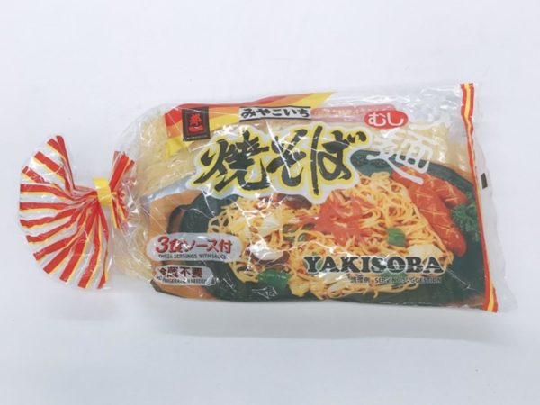 Yakisoba Noodle with sauce 3pc