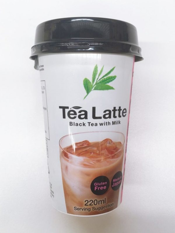 Tea Latte 220ml (Black Tea with Milk) 220ml