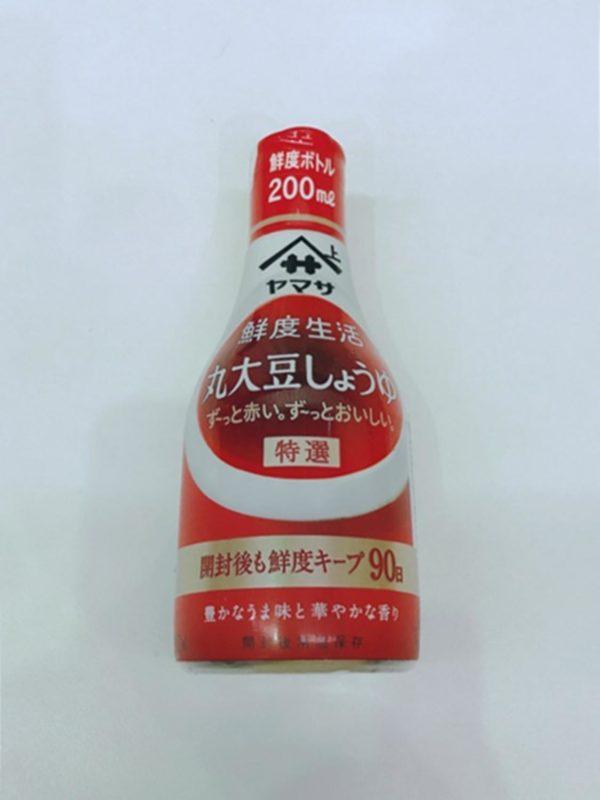 YAMASA Sendoseikatsu Soy Sauce 200ml (Marudaizu)