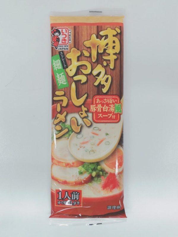 ITSUKI Dried Ramen Noodle (Hakata Osshoi Ramen)104g