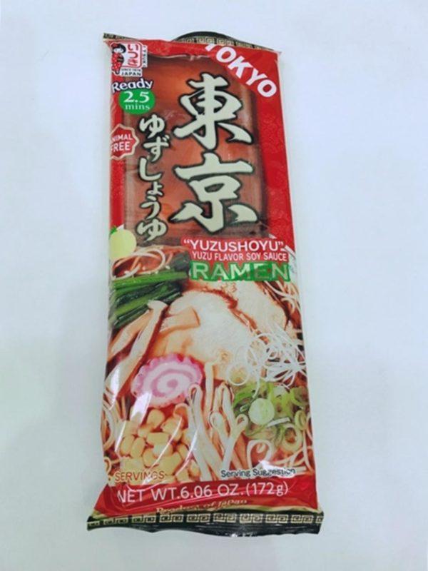 ITSUKI Dried Ramen Noodle (Tokyo Yuzu Shoyu Ramen)172g