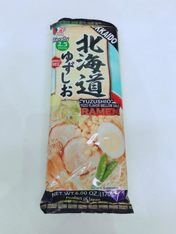 ITSUKIDried Ramen Noodle (Hokkaido Yuzu Shio Ramen)170g