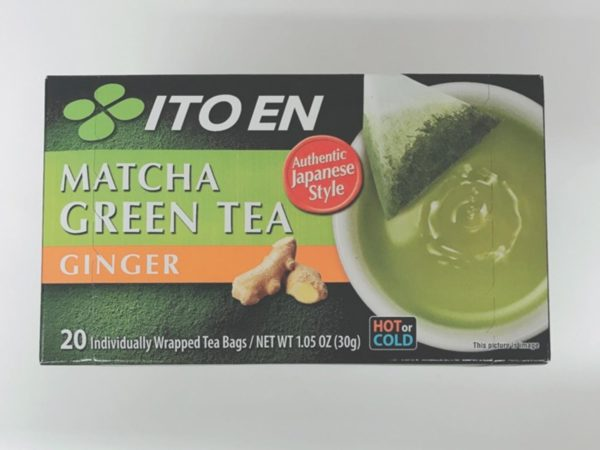 ITOEN Matcha Green Tea Bag (Ginger)20P