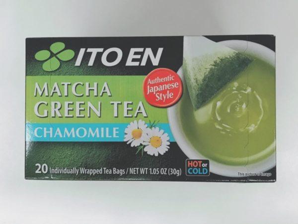 ITOEN Matcha Green Tea Bag (Chamomile)20P