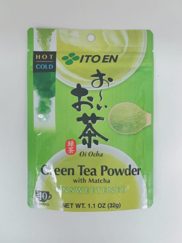 ITOEN Green tea powder with matcha 32g
