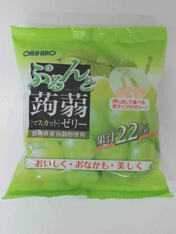 ORIHIRO Konjac jelly (Muscat)20gx6P