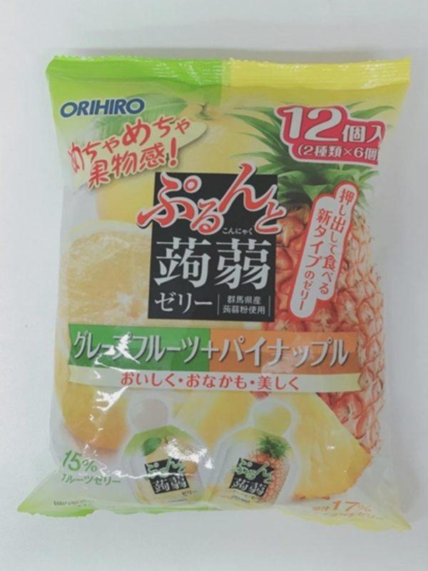 ORIHIRO Konjac jelly  (Grapefruit)20gx12P