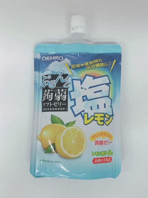 ORIHIRO Konjac jelly Pouch (Salted Lemon)130g