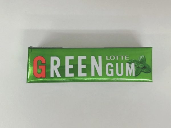 LOTTE Green Gum 27g