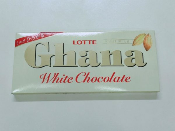 LOTTE Ghana Chocolate (White) 45g