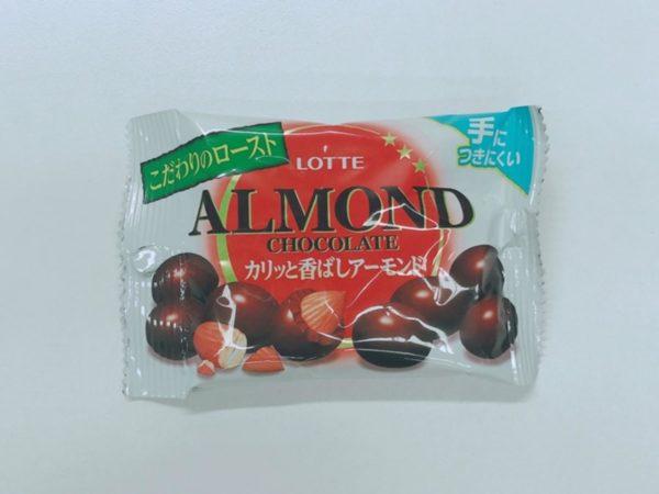 LOTTE Pop Joy Almond Chocolate (Crisp Almond)43g