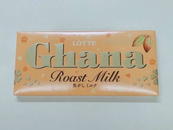 LOTTE Ghana Chocolate (Roast White)50g