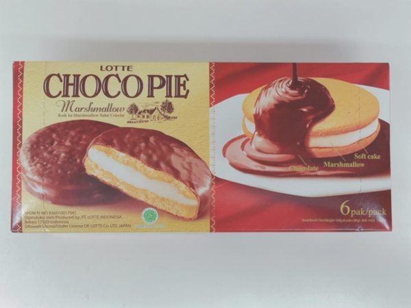 LOTTE Choco Pie (Marshmallow)6P
