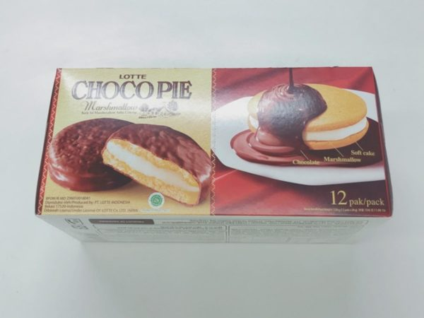 LOTTE Choco Pie Pack (Marshmallow)12P