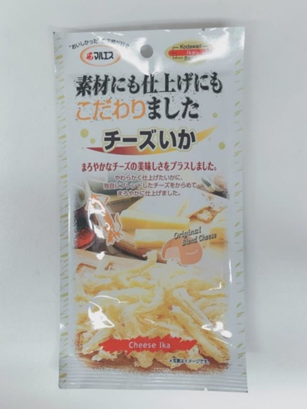 MARUESU Dried squid with Cheese 27g