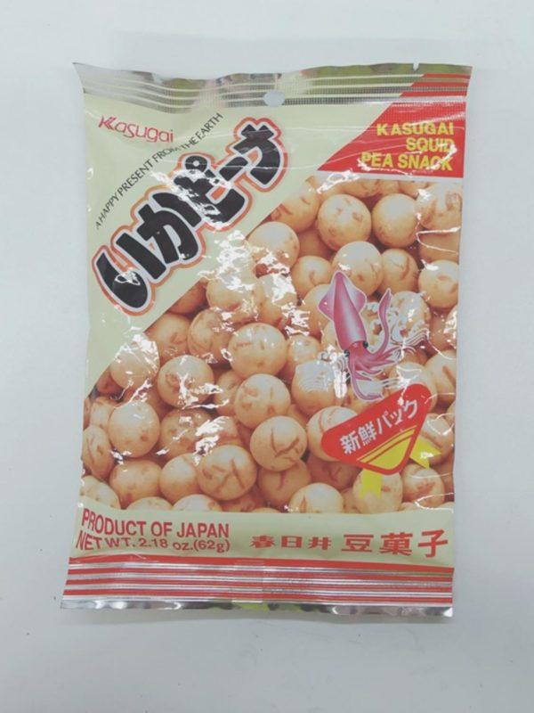 KASUGAI Squid Peas 62g